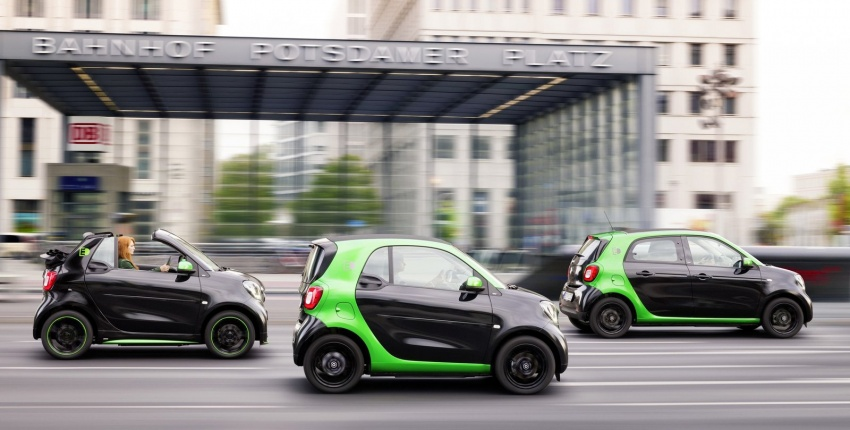 2017 Smart Electric Drive range: fortwo, cabrio, forfour Image #552721
