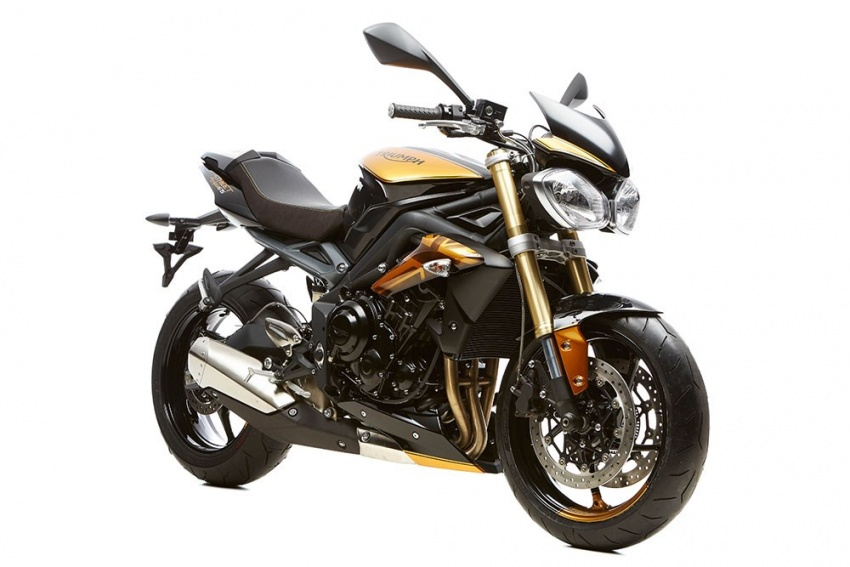 2017 Triumph Street Triple 675R 10th Anniversary limited edition – only 150 units to be made Image #554157