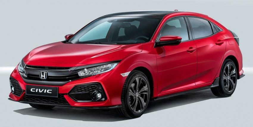 Honda Civic Hatchback makes European debut – built in the UK, 1.0/1.5 VTEC Turbo and 1.6 i-DTEC diesel Image #549810