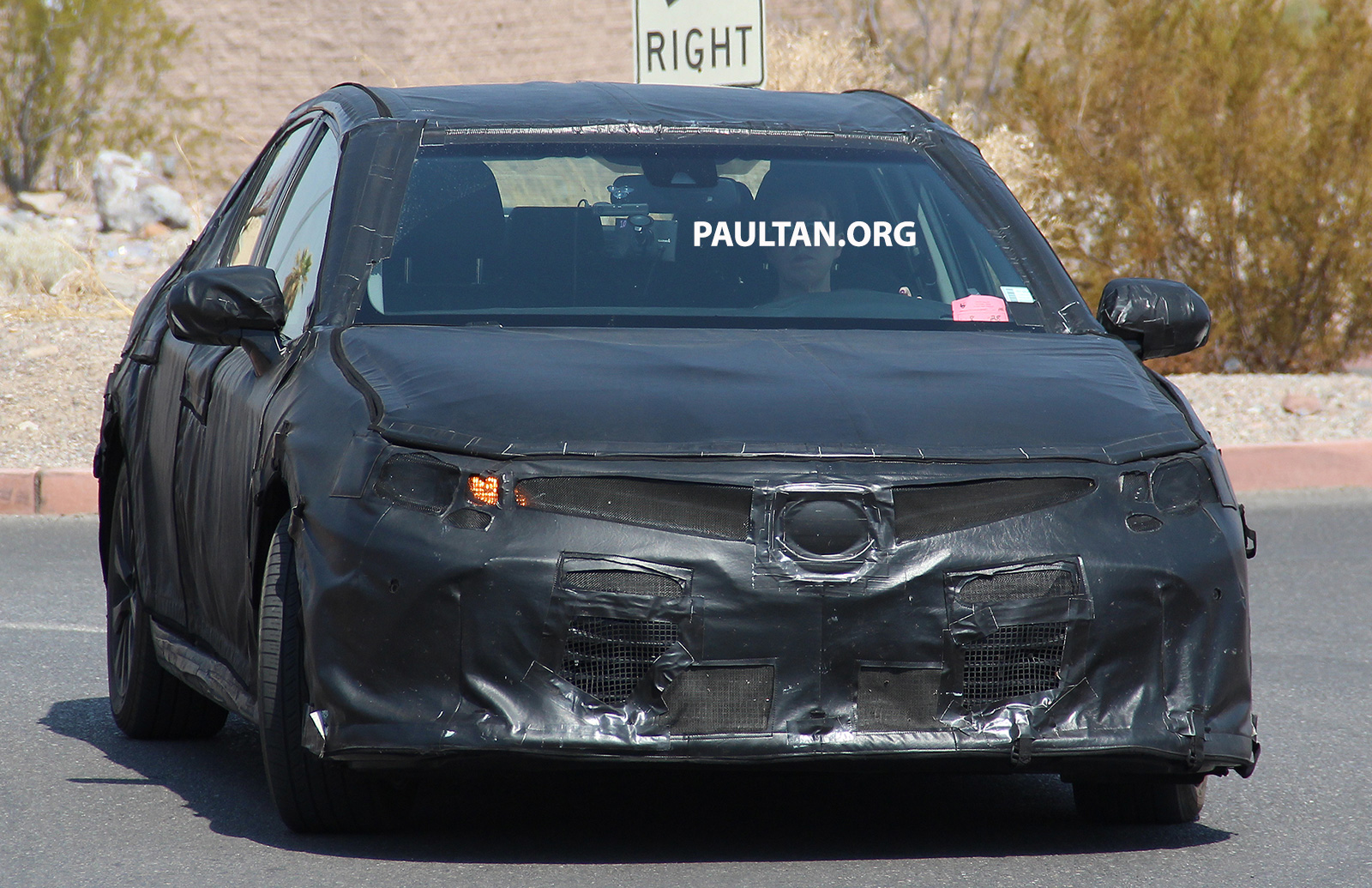 spyshots 2018 toyota camry in the death valley image 547605. Black Bedroom Furniture Sets. Home Design Ideas