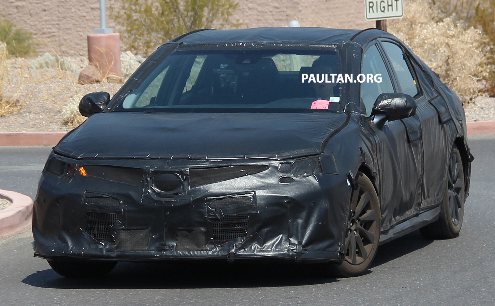 Spyshots 2018 Toyota Camry In The Valley Paul Tan Image 547606