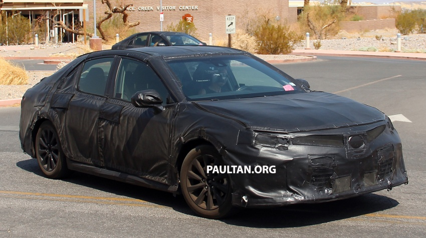Back to Story: SPYSHOTS: 2018 Toyota Camry in the Death Valley