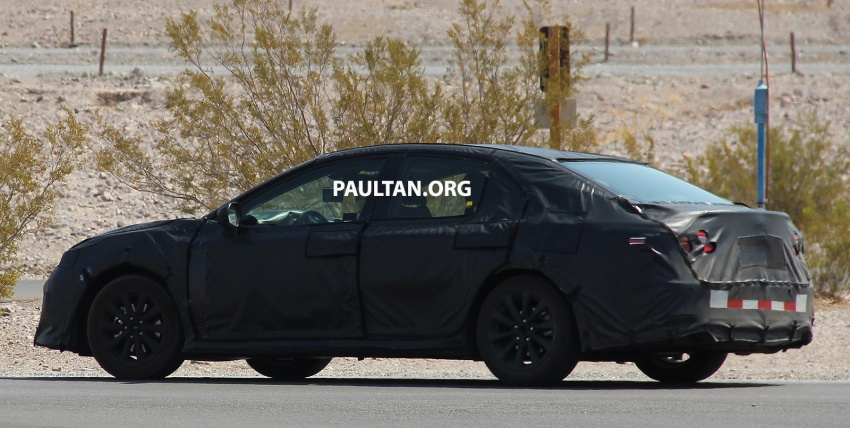 SPYSHOTS: 2018 Toyota Camry in the Death Valley Image 547613