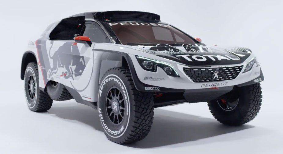 peugeot 3008 dkr to lead 2017 dakar rally campaign image 548612