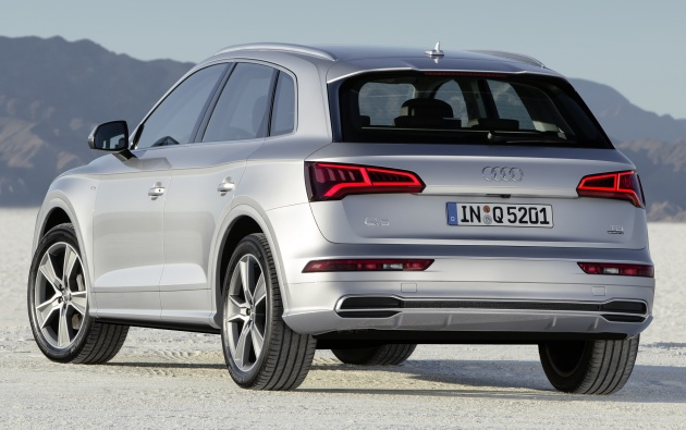 2017 Audi Q5 unveiled – bigger, lighter than before