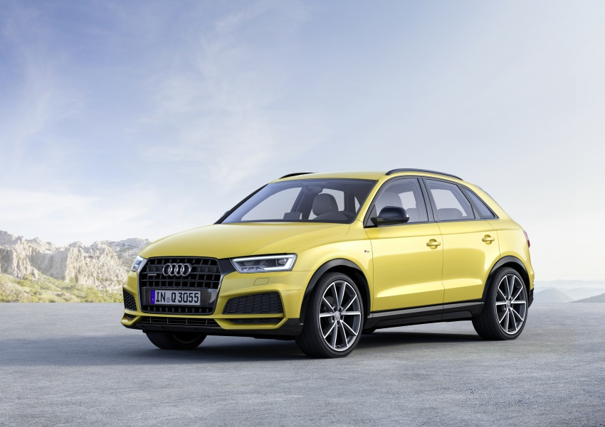 Audi Q3 facelifted again, adds S line competition trim Image #549475