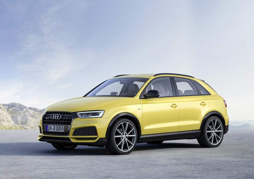 Audi Q3 facelifted again, adds S line competition trim Image #549476