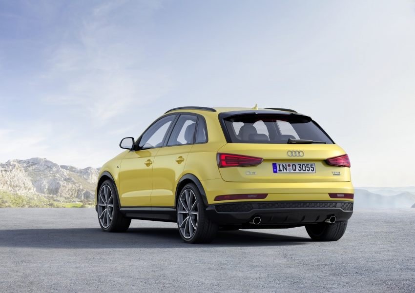 Audi Q3 facelifted again, adds S line competition trim Image #549477