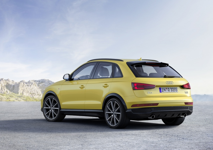 Audi Q3 facelifted again, adds S line competition trim Image #549478