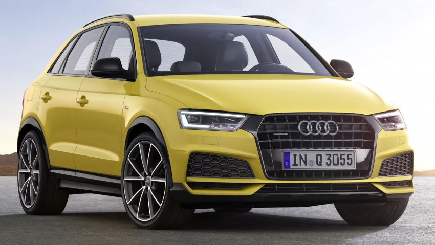 Audi Q3 facelifted again, adds S line competition trim Image #549479