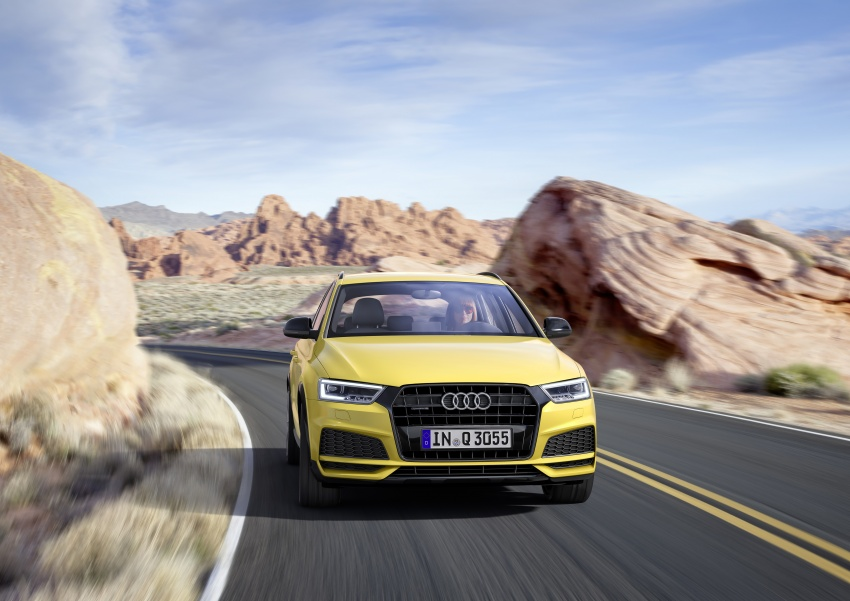 Audi Q3 facelifted again, adds S line competition trim Image #549481