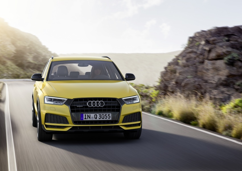 Audi Q3 facelifted again, adds S line competition trim Image #549482