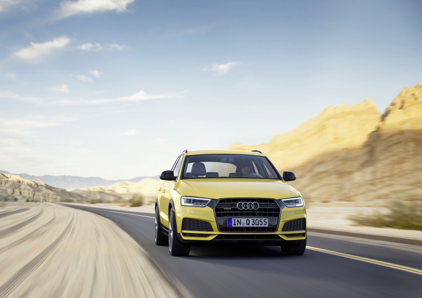 Audi Q3 facelifted again, adds S line competition trim Image #549483