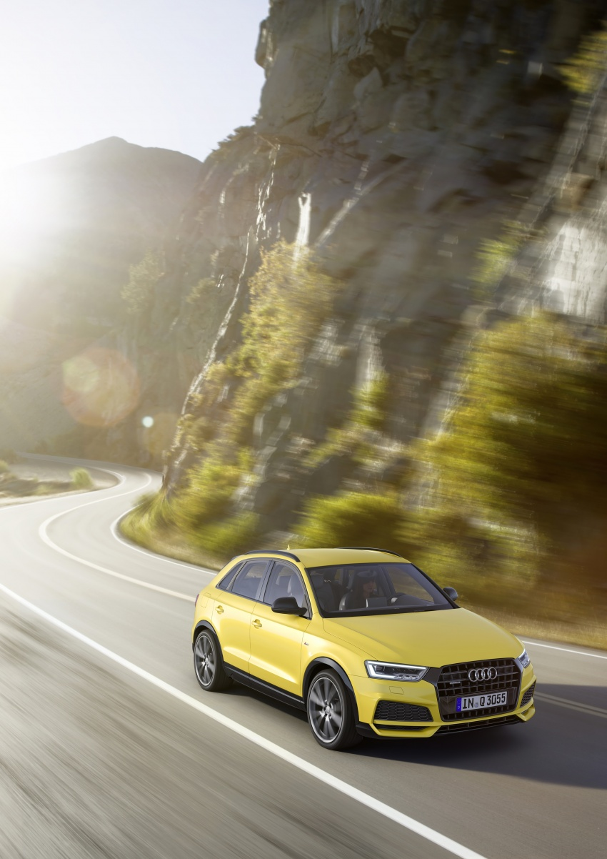 Audi Q3 facelifted again, adds S line competition trim Image #549484