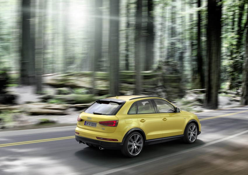 Audi Q3 facelifted again, adds S line competition trim Image #549486