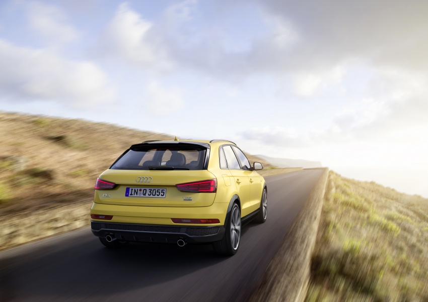 Audi Q3 facelifted again, adds S line competition trim Image #549487