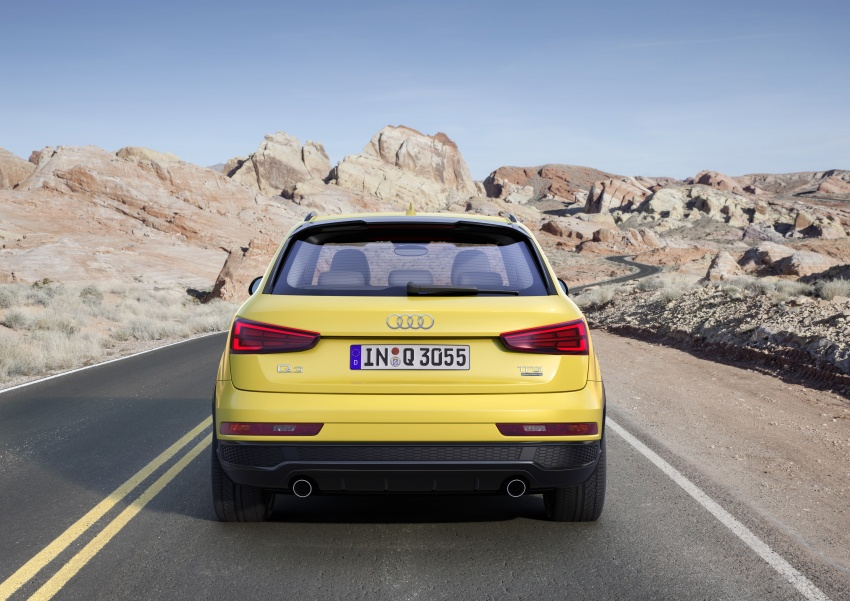 Audi Q3 facelifted again, adds S line competition trim Image #549488