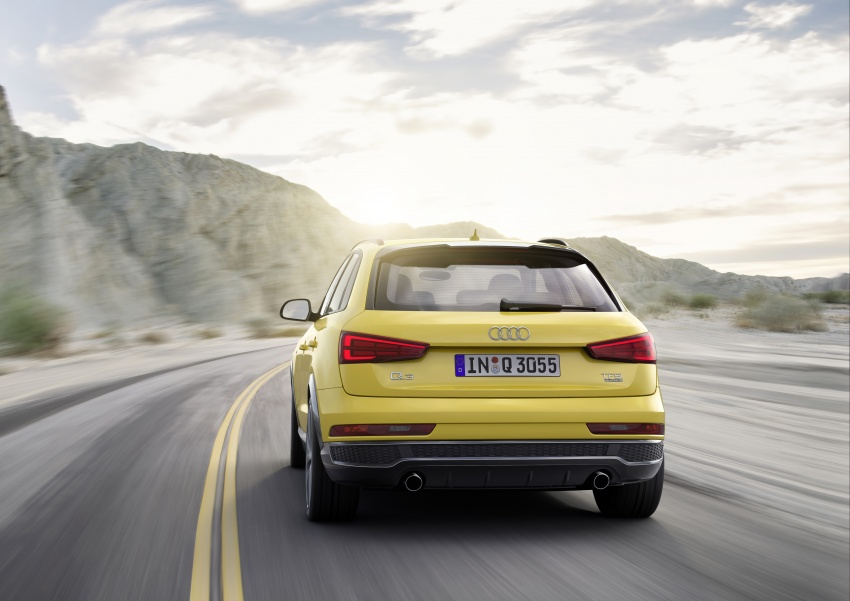 Audi Q3 facelifted again, adds S line competition trim Image #549490