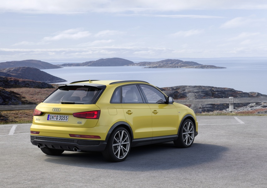 Audi Q3 facelifted again, adds S line competition trim Image #549491