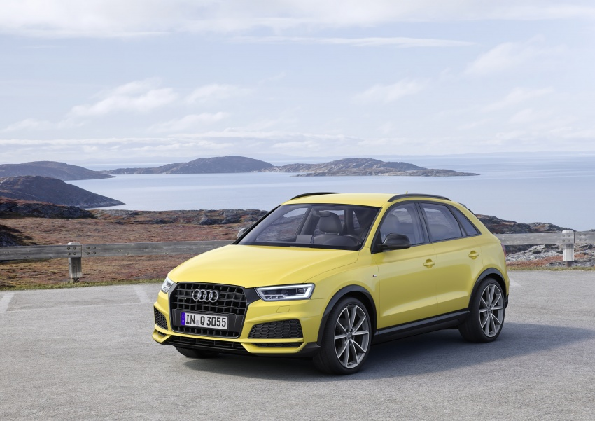 Audi Q3 facelifted again, adds S line competition trim Image #549492