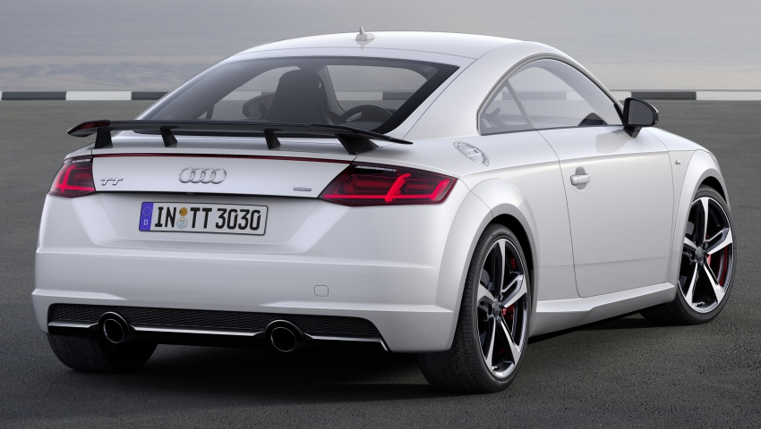 Audi Tt S Line Competition Shown Sportier Package Paul