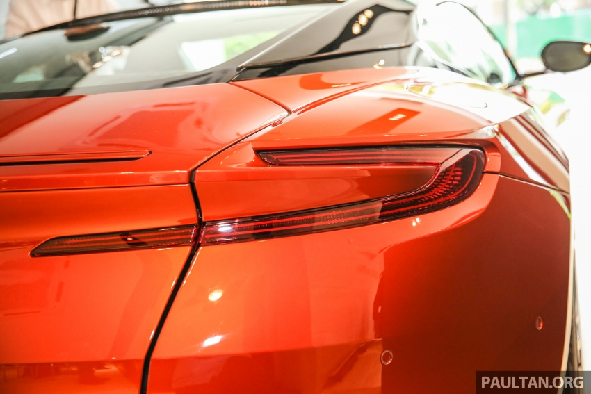 Aston Martin DB11 lands in Malaysia, from RM2 mil; new Wearnes showroom opens in Kuala Lumpur Image #556554