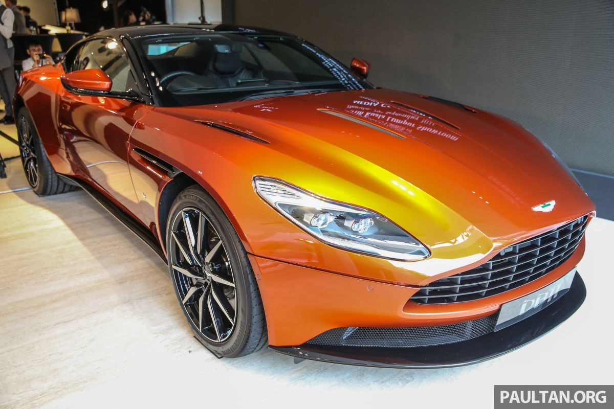 aston martin db11 lands in malaysia, from rm2 mil; new wearnes