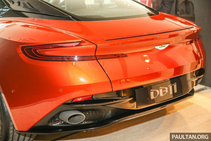 Aston Martin DB11 lands in Malaysia, from RM2 mil; new Wearnes showroom opens in Kuala Lumpur Image #556560