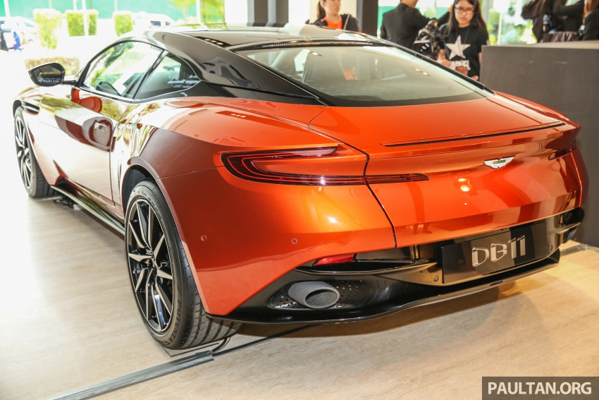 Aston Martin DB11 lands in Malaysia, from RM2 mil; new Wearnes showroom opens in Kuala Lumpur Image #556535