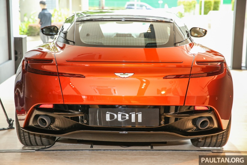 Aston Martin DB11 lands in Malaysia, from RM2 mil; new Wearnes showroom opens in Kuala Lumpur Image #556536