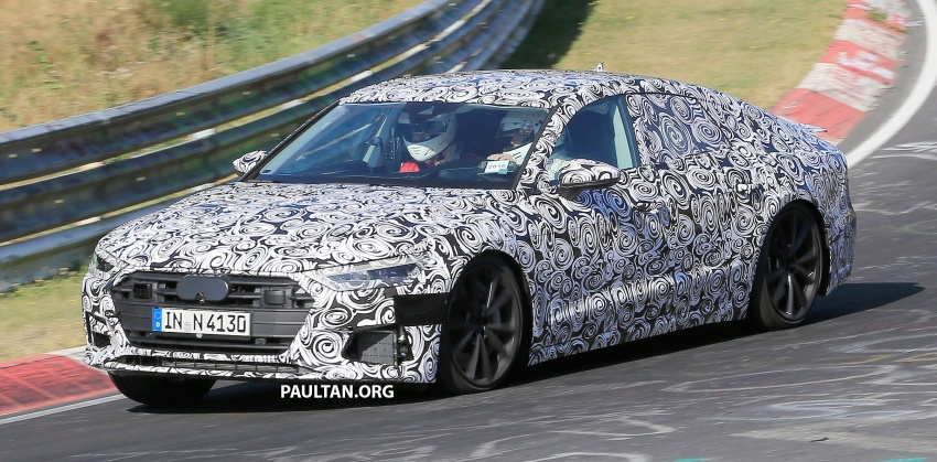SPIED: Next Audi S7 Sportback seen testing at the Nürburgring – styling drawn from Prologue Concept Image #552080