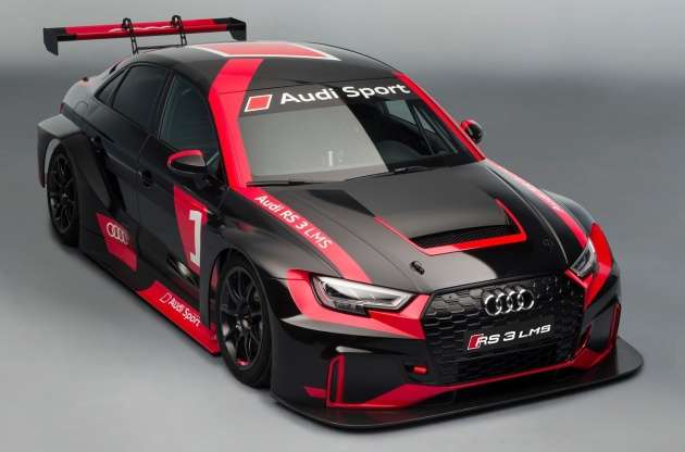 Audi RS3 LMS - TCR class race car, 2.0 TFSI, 330 hp