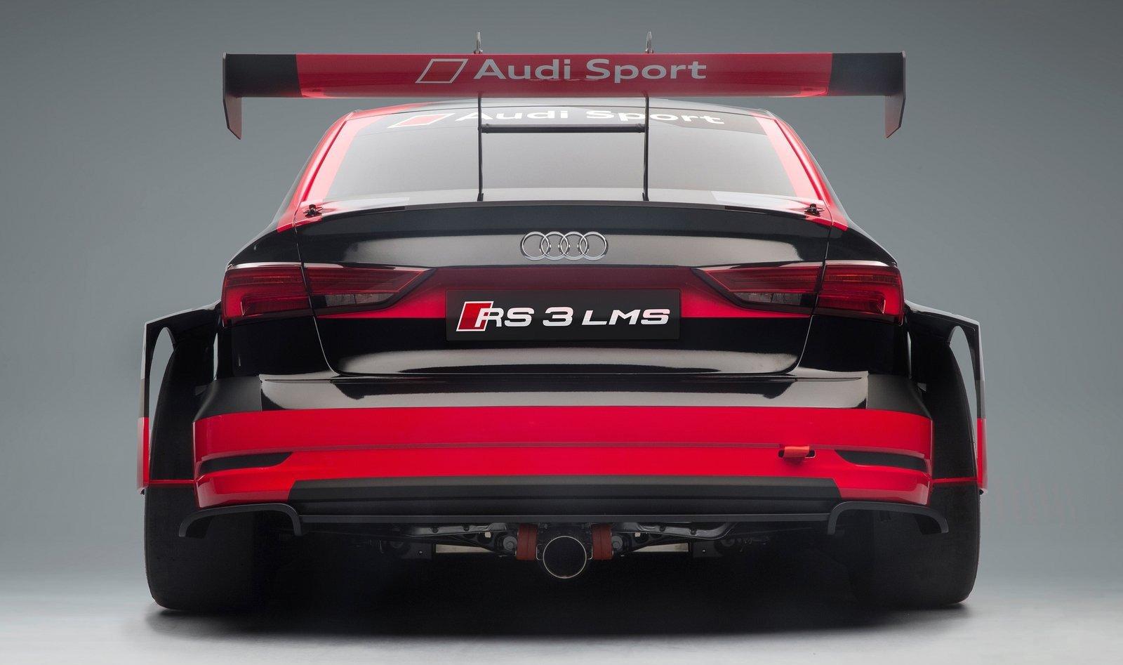 Audi RS3 LMS - TCR class race car, 2.0 TFSI, 330 hp Paul ...