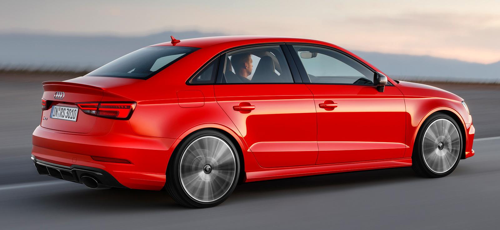 Audi Rs 3 Sedan Diperkenalkan 2 5 Liter Tfsi Lima
