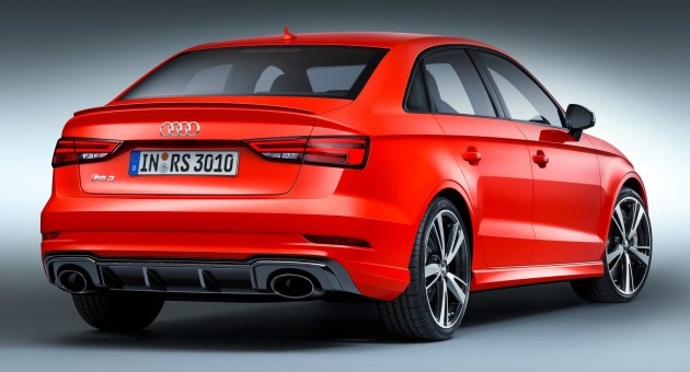 Audi Rs3 Sedan 400 Hp 2 5 Tfsi Five Cylinder 4 1 Sec