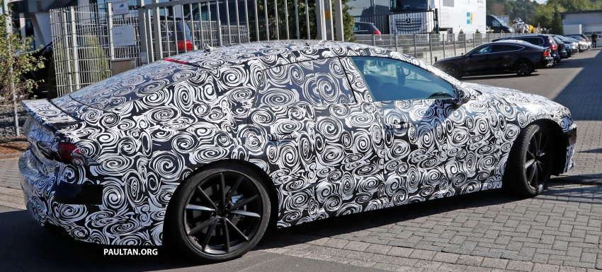 SPIED: Next Audi S7 Sportback seen testing at the Nürburgring – styling drawn from Prologue Concept Image #552106