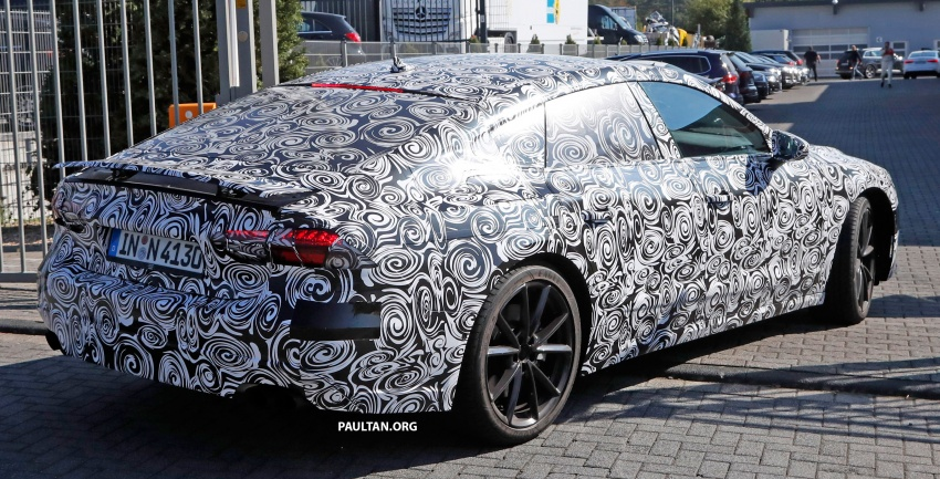 SPIED: Next Audi S7 Sportback seen testing at the Nürburgring – styling drawn from Prologue Concept Image #552107