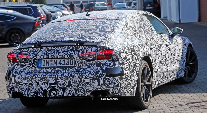 SPIED: Next Audi S7 Sportback seen testing at the Nürburgring – styling drawn from Prologue Concept Image #552109