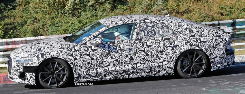 SPIED: Next Audi S7 Sportback seen testing at the Nürburgring – styling drawn from Prologue Concept Image #552094