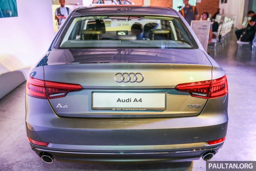 B9 Audi A4 launched in Malaysia – 2.0 TFSI at RM240k Image #550383