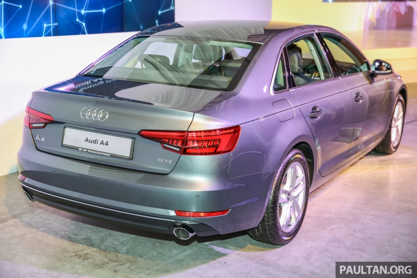 B9 Audi A4 launched in Malaysia – 2.0 TFSI at RM240k Image #550384