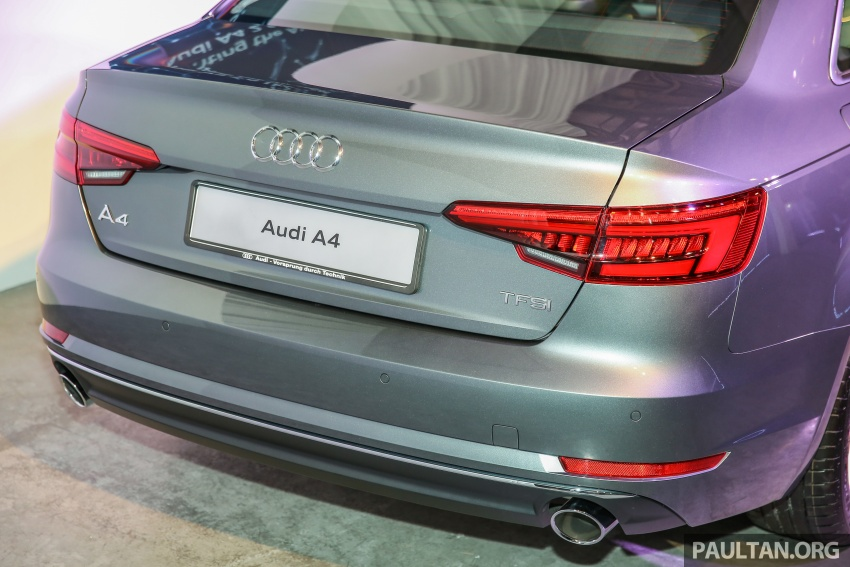 B9 Audi A4 launched in Malaysia – 2.0 TFSI at RM240k Image #550385