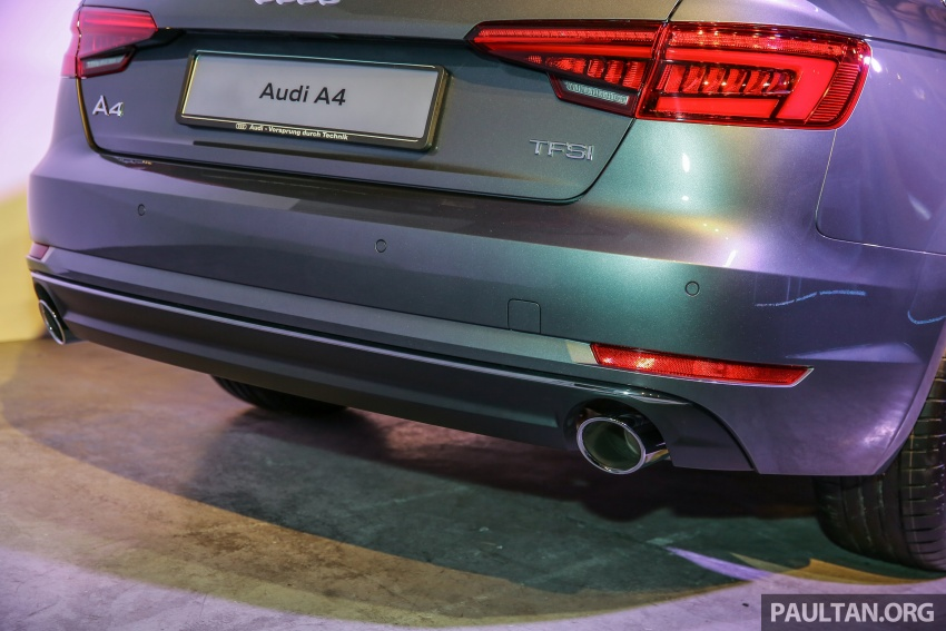 B9 Audi A4 launched in Malaysia – 2.0 TFSI at RM240k Image #550387