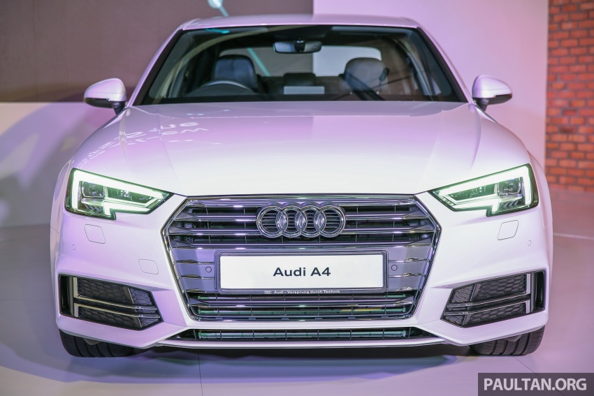 B9 Audi A4 launched in Malaysia – 2.0 TFSI at RM240k Image #550407