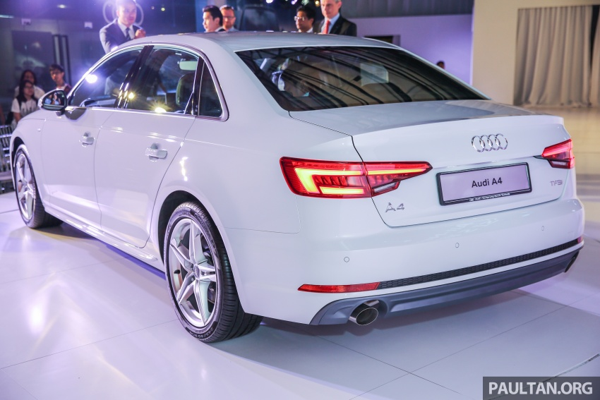 B9 Audi A4 launched in Malaysia – 2.0 TFSI at RM240k Image #550422