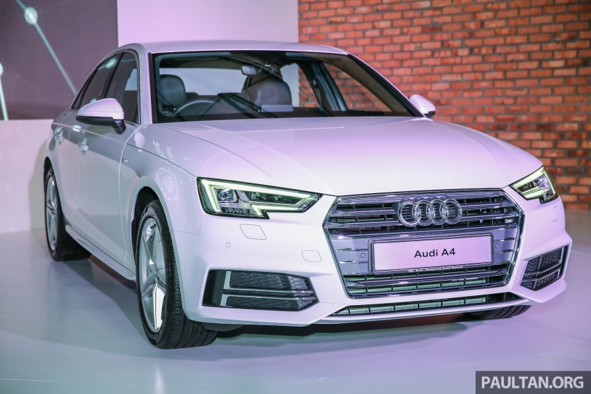 B9 Audi A4 launched in Malaysia – 2.0 TFSI at RM240k Image #550408