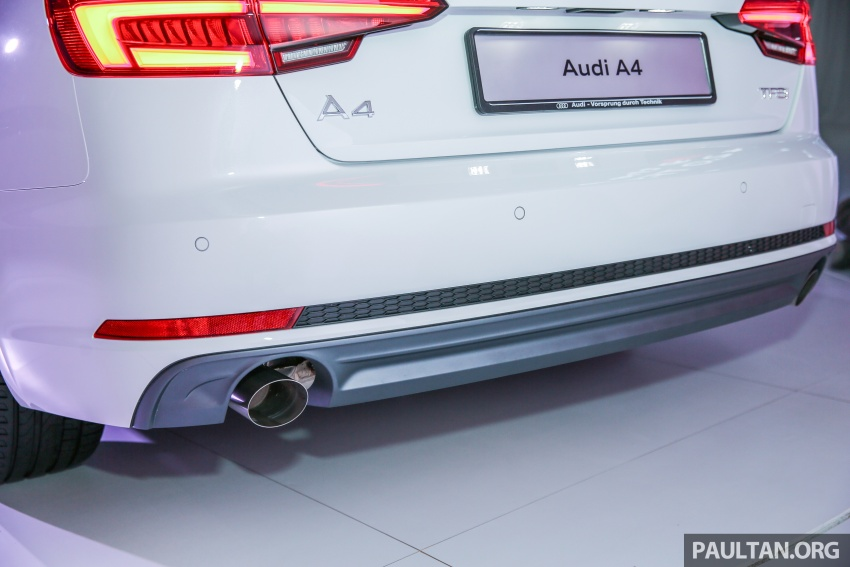 B9 Audi A4 launched in Malaysia – 2.0 TFSI at RM240k Image #550428