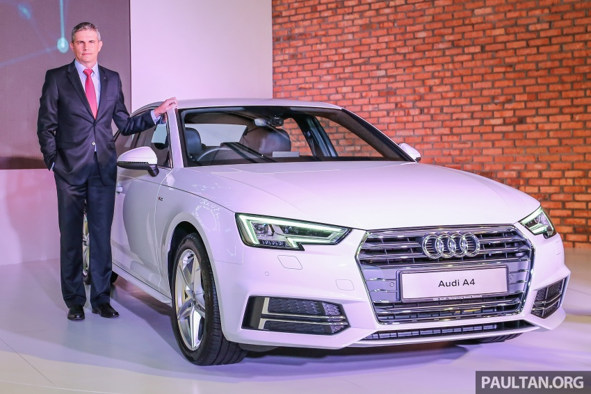 B9 Audi A4 launched in Malaysia – 2.0 TFSI at RM240k Image #550230