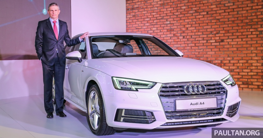 B9 Audi A4 launched in Malaysia – 2.0 TFSI at RM240k Image #550315