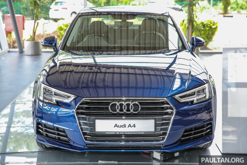 B9 Audi A4 launched in Malaysia – 2.0 TFSI at RM240k Image #550147